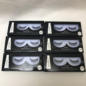 NYX Fabulous Lashes  EL 103 Sugarlicious 6 Packs